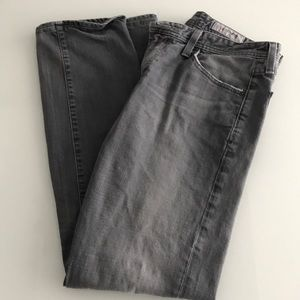 AG jeans in light grey wash
